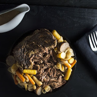 5 Step Slow Cooker Pot Roast