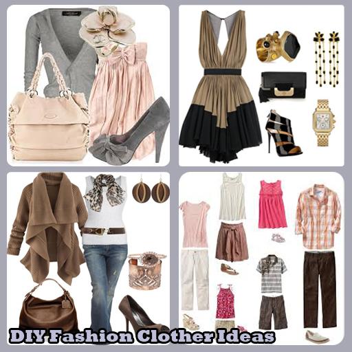 DIY Fashion Clothes Ideas