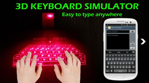3D KeyBoard Simulator Extreme