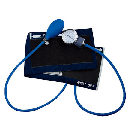 Professionell Blodtrycksmätare Marinblå