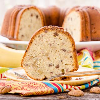 Banana Nut Pound Cake