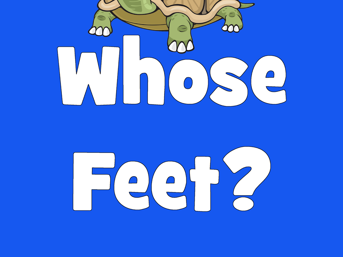 Whose Feet- screenshot