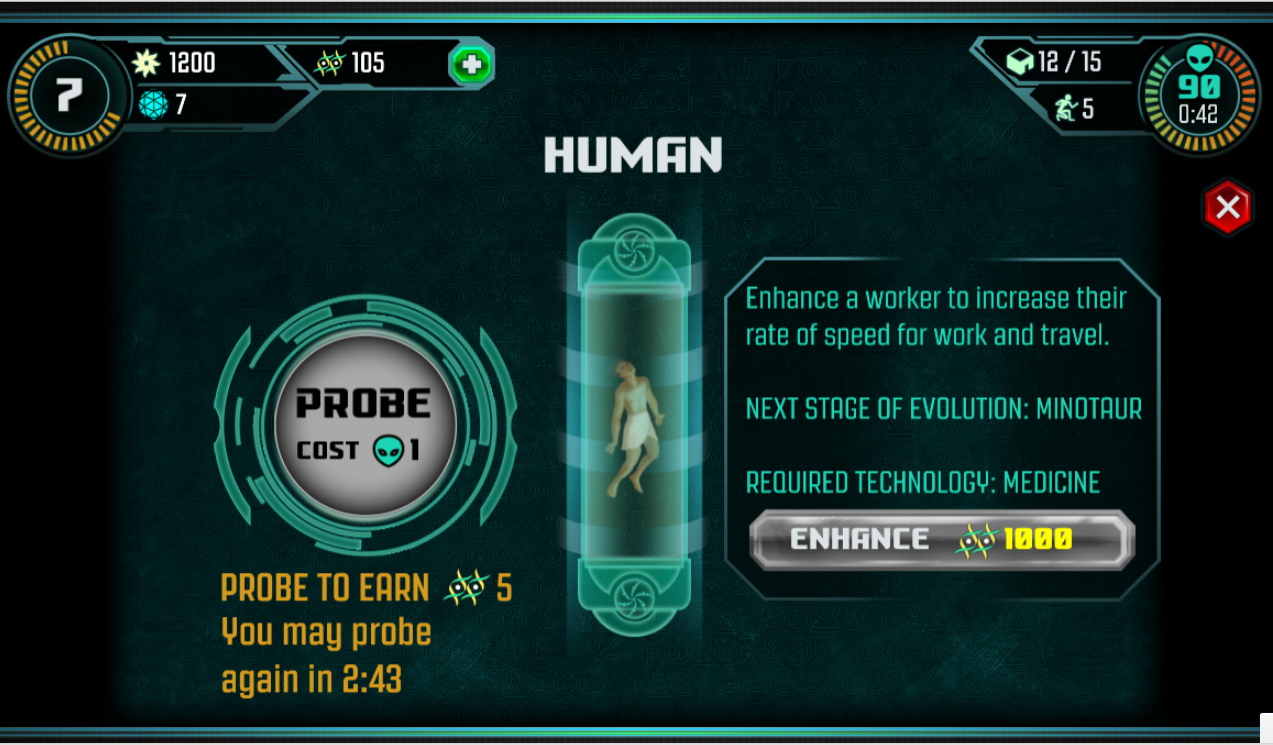 Ancient Aliens: The Game- screenshot