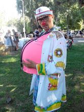 Photo: Фантик на фестивале будущих мам :) 30.08.2015