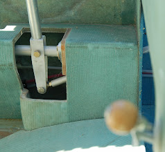 Photo: N753CZ Cozy MK-IV Pilot Side Control Stick