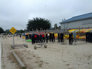 Photo: I was amused by the Kayak Xing sign in Monterey