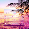 Sunsetbeach Keyboard Theme icon