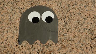 Photo: PacMan-Monster (Grau); PDOT