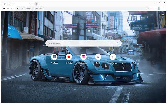 New Tab - Bentley