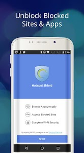 Hotspot Shield Free VPN Proxy v4.2.6 (Ad Free/Patched)