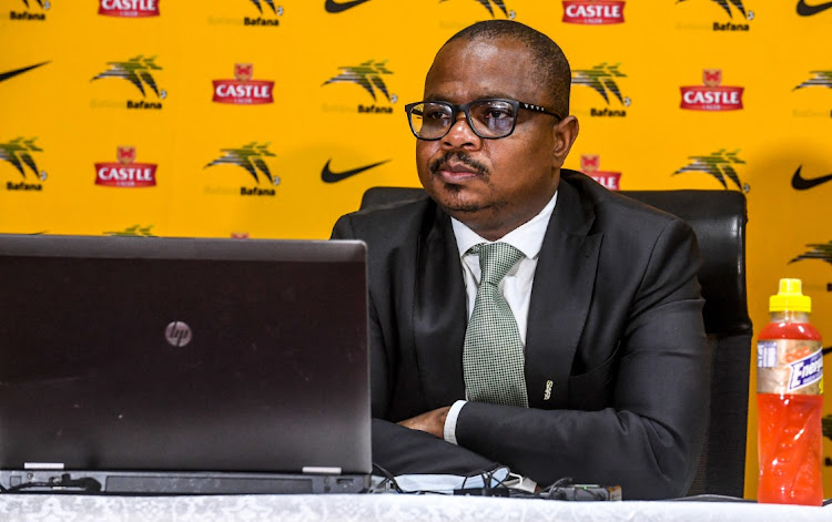 Safa CEO Tebogo Motlanthe said he was not part of a confrontational meeting with sacked Bafana Bafana coach Molefi Ntseki.