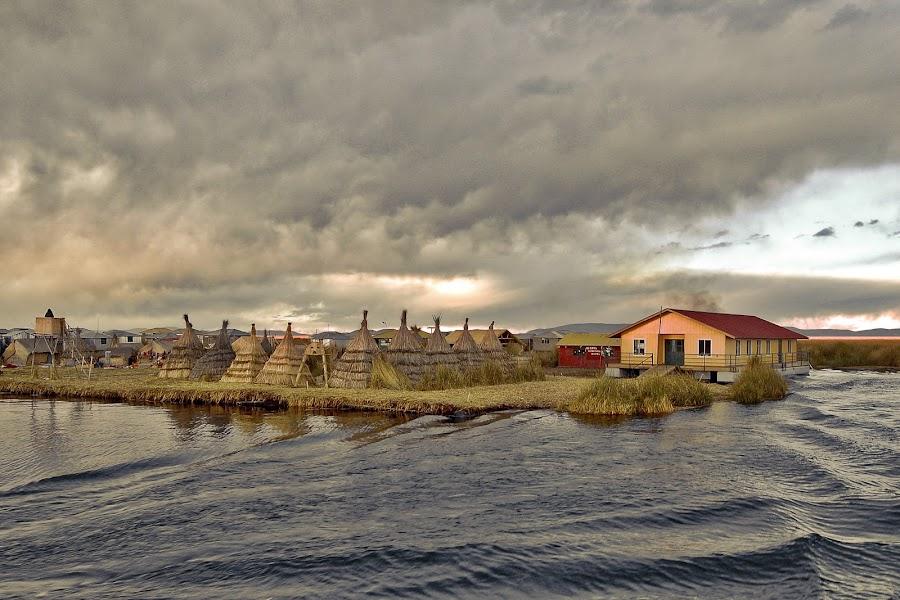 Lake Titicaca by Marco Parenti - Landscapes Waterscapes ( peru, waterscape, lake, titicaca, landscape )