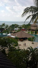 Photo: Casual view from my hotel balcony in Bali