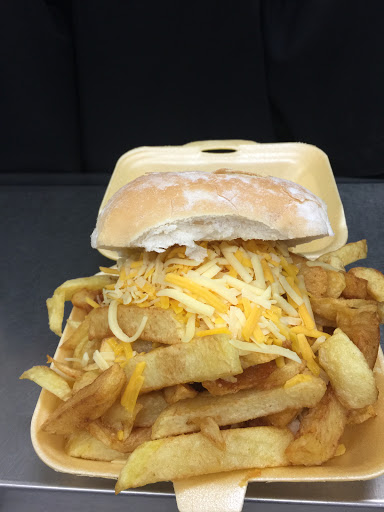 Chip Buttie with Cheese