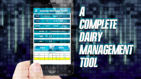 App DAIRY MILK MANAGER (No Ads) - Dairy Software APK for Windows Phone