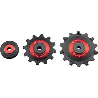 Enduro XD15 Ceramic Eagle Jockey Wheels/Idler Pulley Set