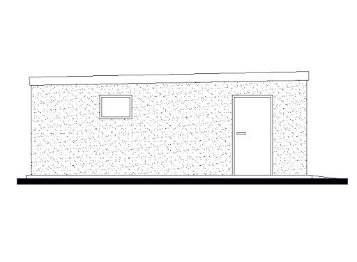 projekt GB49 Garaż Blaszany Dwustanowiskowy