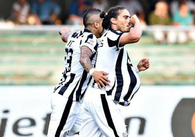 Juventus: Caceres au repos pendant un mois