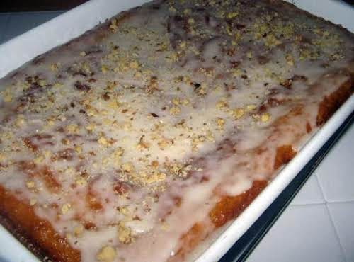 """Easy Cinnamon Brown Sugar Coffee Cake """"I wanted a quick and easy..."""