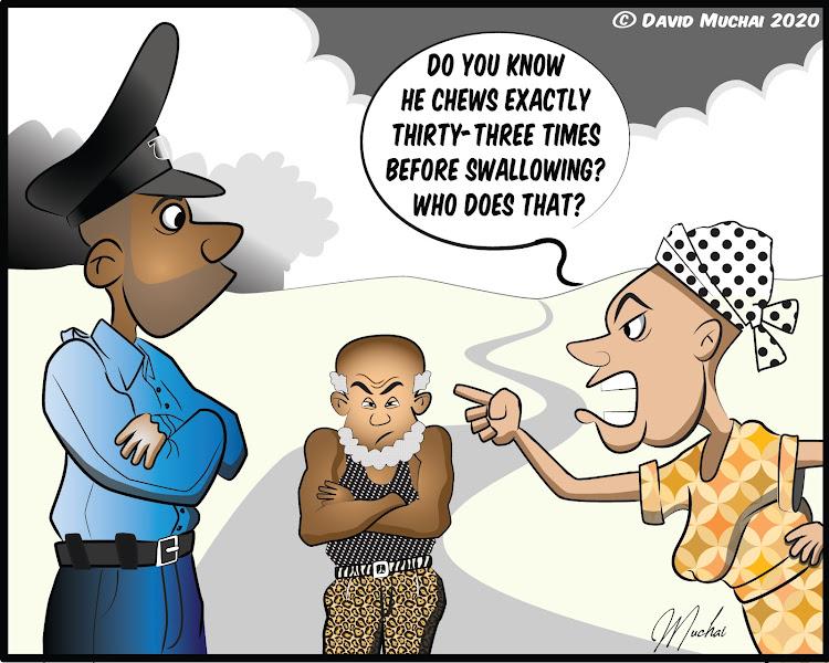 Woman reports annoying husband at Jiji Ndogo police post
