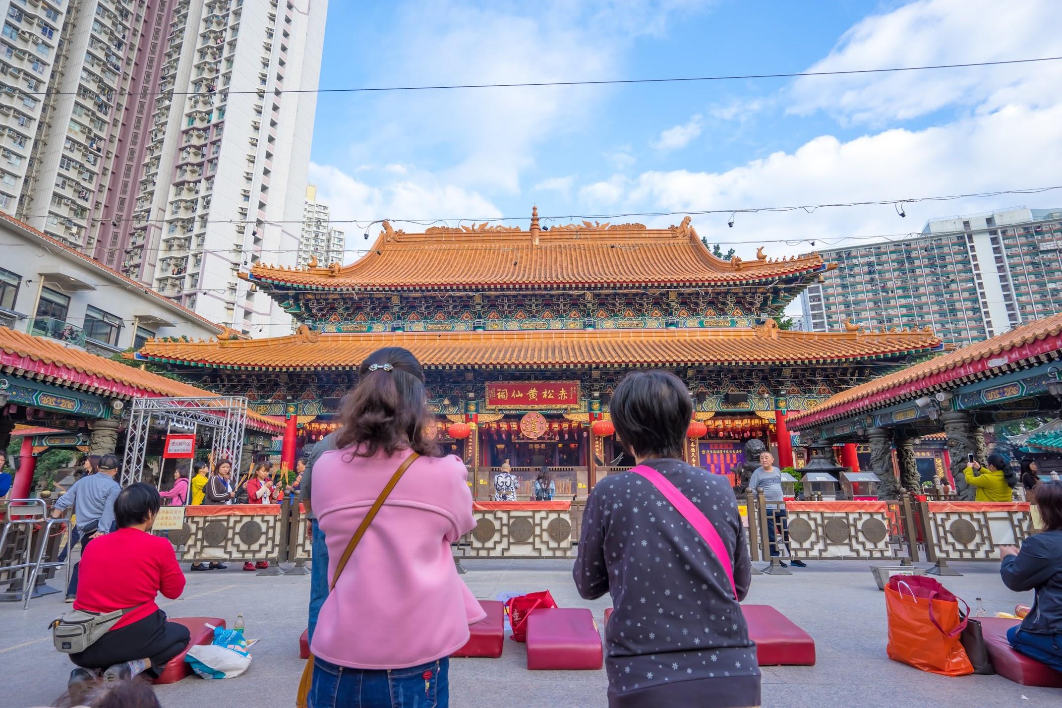 Hong Kong Wong Tai Sin Temple4