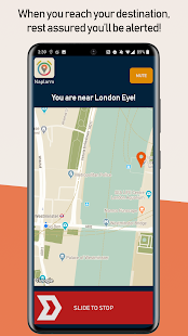 Naplarm - Location Alarm / GPS Alarm Screenshot