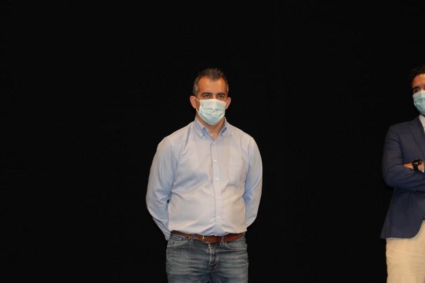 David Lozano, concejal de Seguridad, Policía Local y Protección Civil de Níjar.