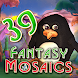 Fantasy Mosaics 39: Behind the Mirror - パズルゲームアプリ