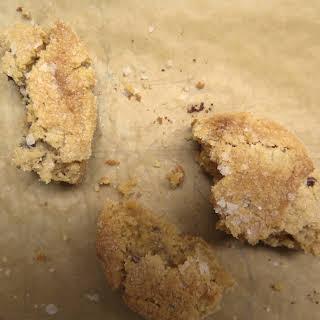 Salty Milk Chocolate Peanut Butter Cookies.