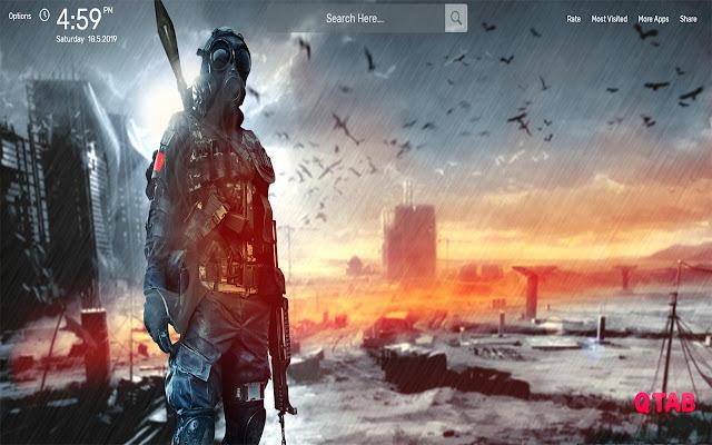 Battlefield Wallpapers HD Theme
