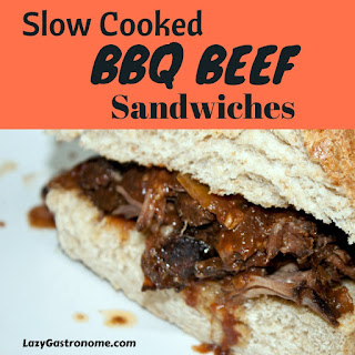 Slow Cooked BBQ Beef Sandwiches Recipe