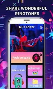 MP3 Editor Pro MOD (Premium Unlocked) APK for Android 1