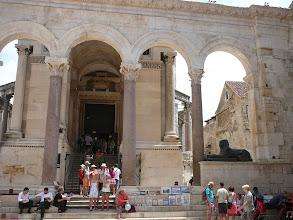 Photo: Split óváros, Split római romjai, Spalato, Diocletianus, IV. Béla, Spalatoban