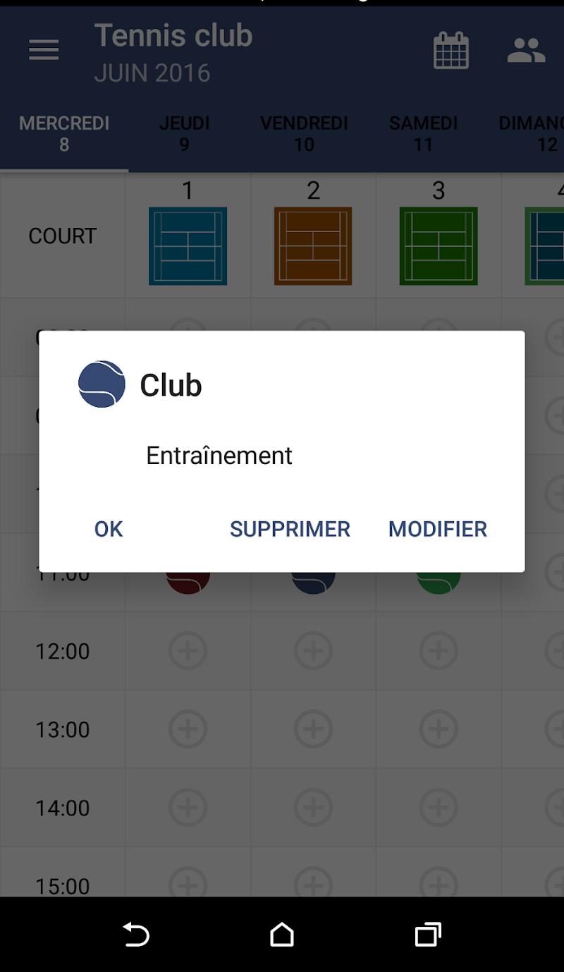 Скриншот Add Court
