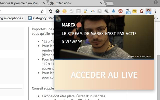 L'extension de Marex