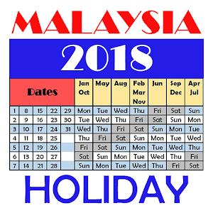 Malaysia Holiday Calendar 2018