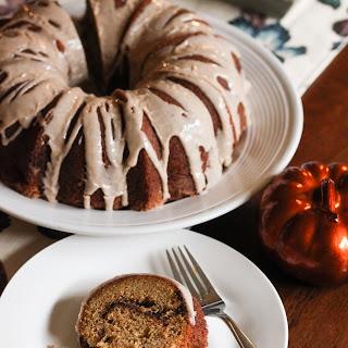 Cinnamon Swirl Pumpkin Bundt Cake