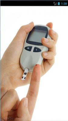 Blood Sugar Scanner HD Prank - screenshot