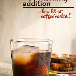 The Morning Addition (Coffee Amaro Cocktail)