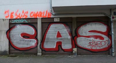 Photo: CAS; Je suis Charlie