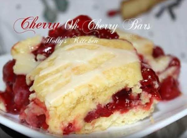Cherry Oh Cherry Bars Recipe