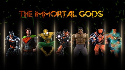 Superhero Fighting Immortal Gods Ring Arena Battle 1.1 screenshots 11