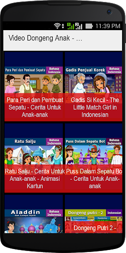 Video Dongeng Anak - Anak 1.0 screenshots 1