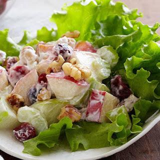 Apple-Cranberry Salad.