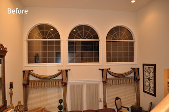 Photo: (Before) Family room Windows Toll Brothers Home Northampton, PA