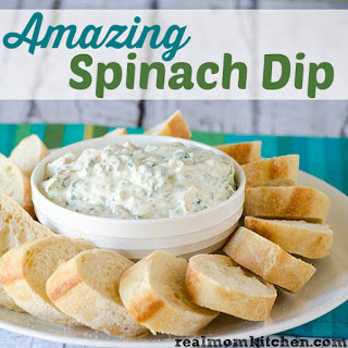 Amazing Spinach Dip.