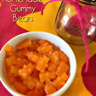 Homemade Gummy Bear Recipe – Hidden Vegetable