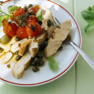 Pan-fried Chicken with Capers