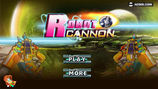 Toy Robot War:Robot Cannon
