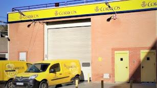 Imagen del pabellón de reparto de Correos en la capital.
